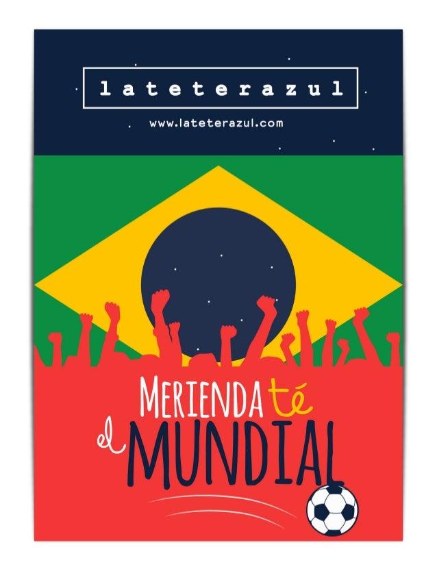 Pharmadus con La Roja. MeriendaTÉ el Mundial!!!!!