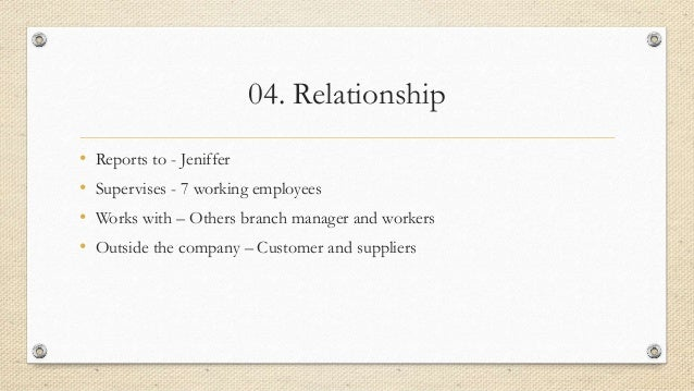 carter cleaning company job description Carter cleaning company chapter 4 what should be the format and final form of the store manager's job description.