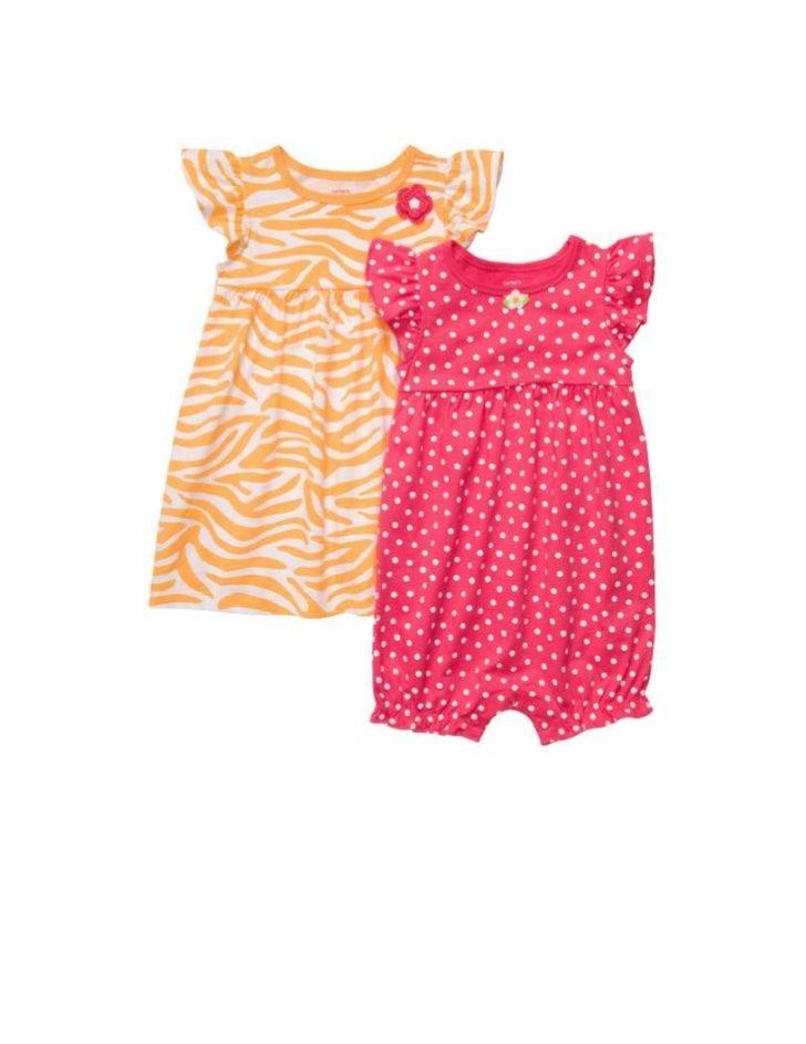 241. 2-Pack Romper & Dress SetMSRP: $24.00
