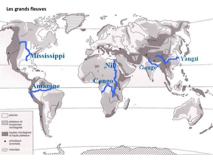 Les grands fleuves