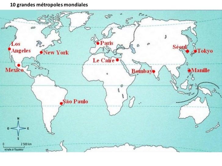 10 grandes métropoles mondiales