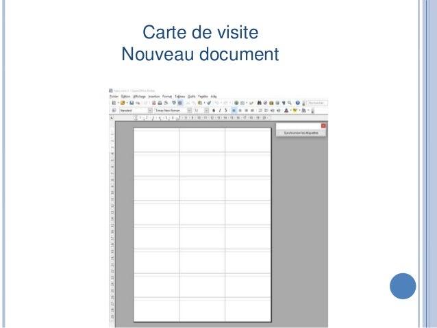 Carte De Visite Synchroniser Le Contenu Onglet Options 6