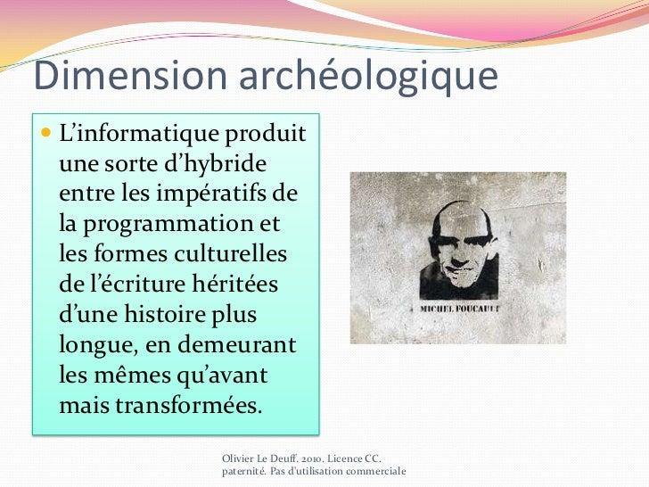 Définition de l'architexte<br />Olivier Le Deuff. 2010. Licence CC. paternité. Pas d'utilisation commerciale<br />