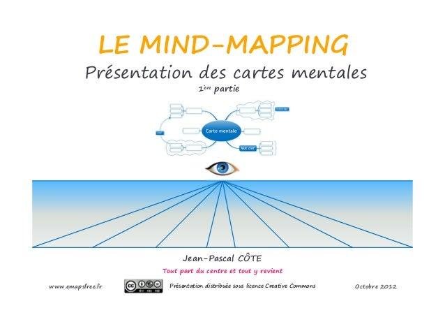 LE MIND-MAPPING          Présentation des cartes mentales                               1ère partie                       ...