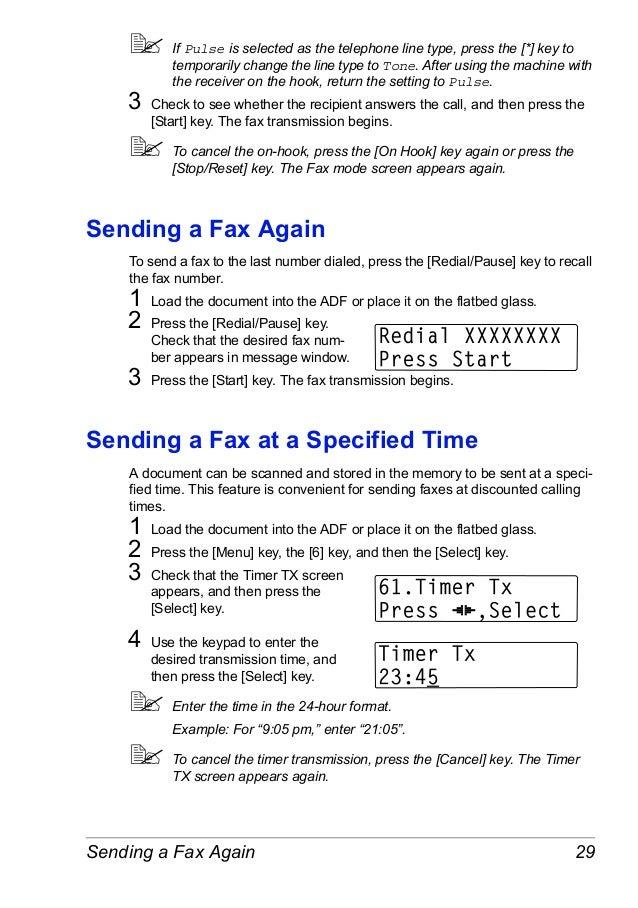 fax header