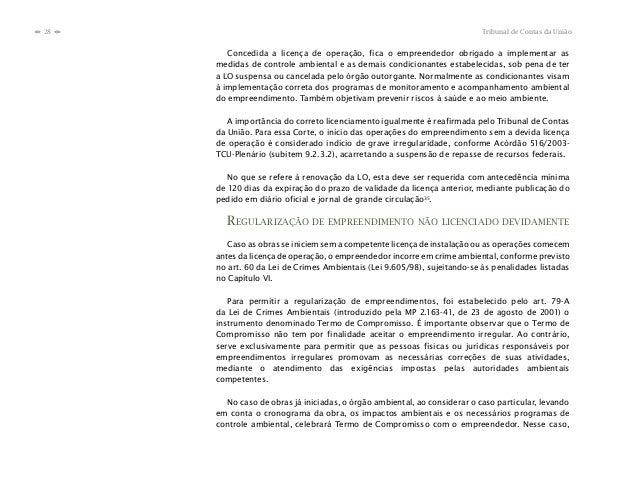 28                                                                           Tribunal de Contas da Uniãon    n      Conced...