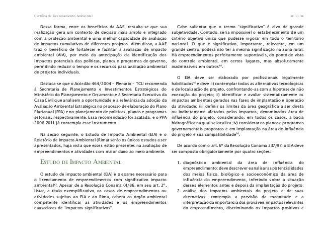 Cartilha de Licenciamento Ambiental                                                                                       ...