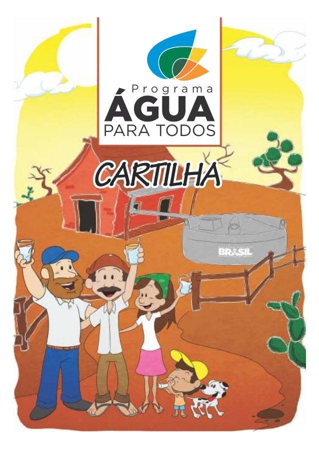 Cartilha - Programa Água para Todos