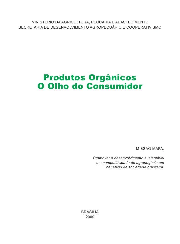 MINISTÉRIO DA AGRICULTURA, PECUÁRIA E ABASTECIMENTO SECRETARIA DE DESENVOLVIMENTO AGROPECUÁRIO E COOPERATIVISMO           ...