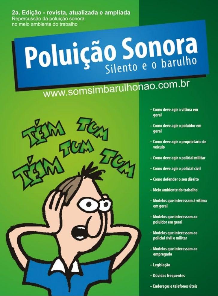 2ª. Ediçãowww.somsimbarulhonao.com.br