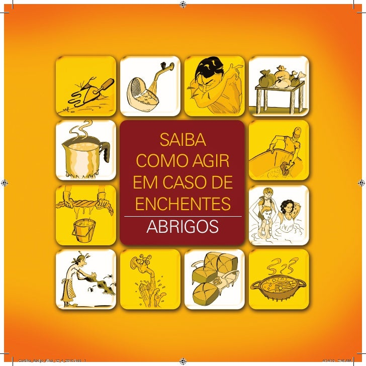 SAIBA                                         COMO AGIR                                         EM CASO DE                ...
