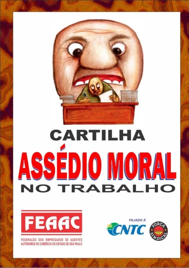 Cartilha assédio moral 102010
