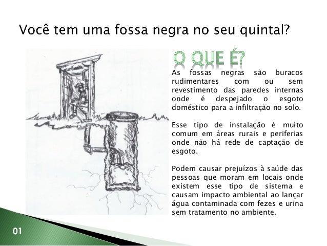 Canteiro Bioséptico - Sistema de tratamento ecológico para esgoto doméstico Slide 2