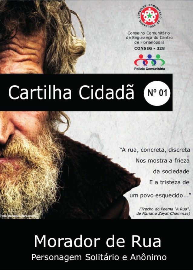 Cartilha Cidadã  - Direitos do morador em situação de rua