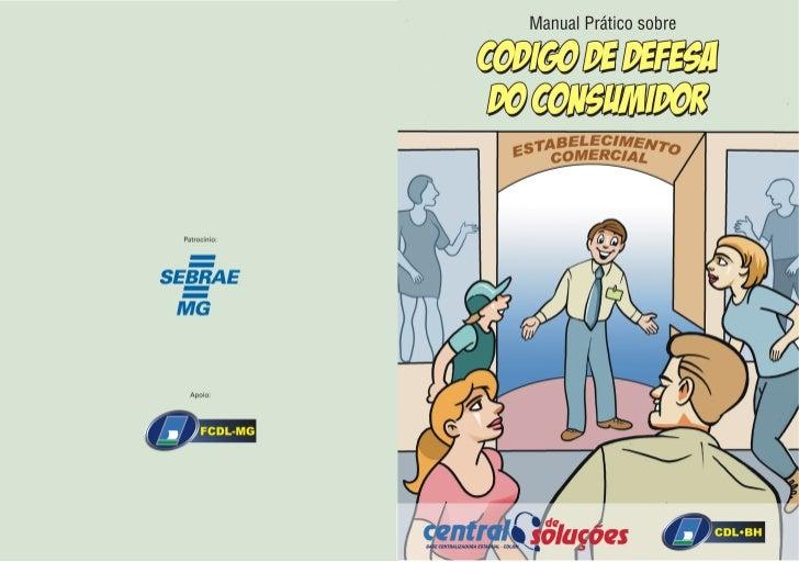 Cartilha sobre o código de Defesa do Consumidor