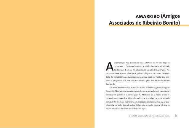 o combate à corrupção nas prefeituras do brasil22 o combate à corrupção nas prefeituras do brasil 23 As ações anticorrupçã...