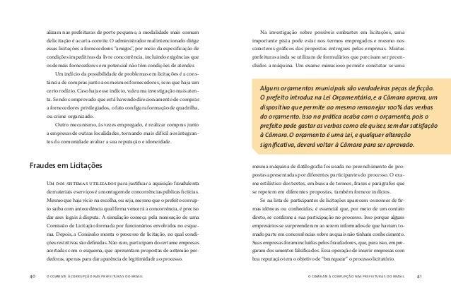 o combate à corrupção nas prefeituras do brasil42 o combate à corrupção nas prefeituras do brasil 43 COMO A NOTA FISCAL se...
