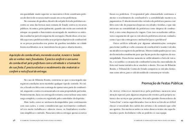 o combate à corrupção nas prefeituras do brasil50 o combate à corrupção nas prefeituras do brasil 51 OS INTEGRANTES DOS ES...