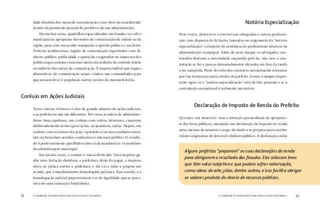 o combate à corrupção nas prefeituras do brasil54 o combate à corrupção nas prefeituras do brasil 55 te do esquema de corr...