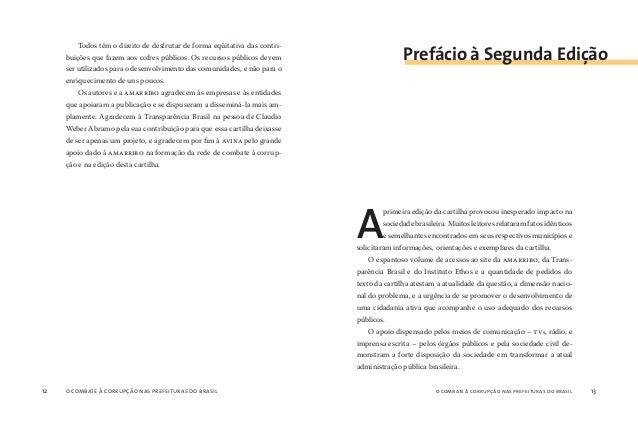 o combate à corrupção nas prefeituras do brasil14 o combate à corrupção nas prefeituras do brasil 15 Atendendo ao grande n...