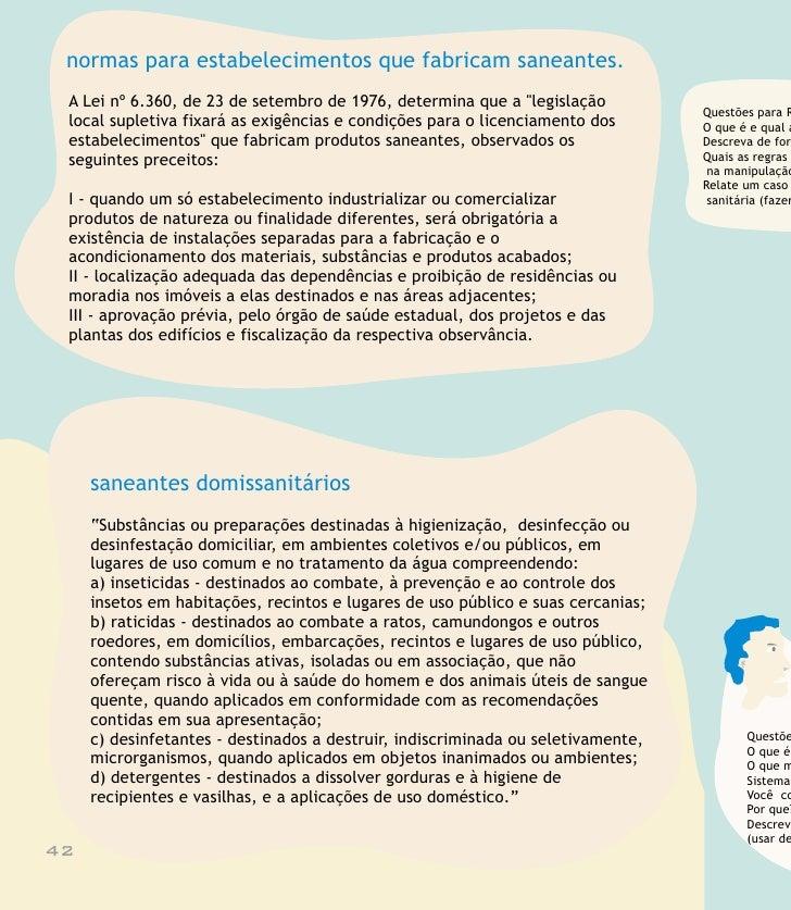 Reflexão 1. História e Principais Conceitos de VISA  as principais ações da vigilância sanitária? rma resumida, a história...