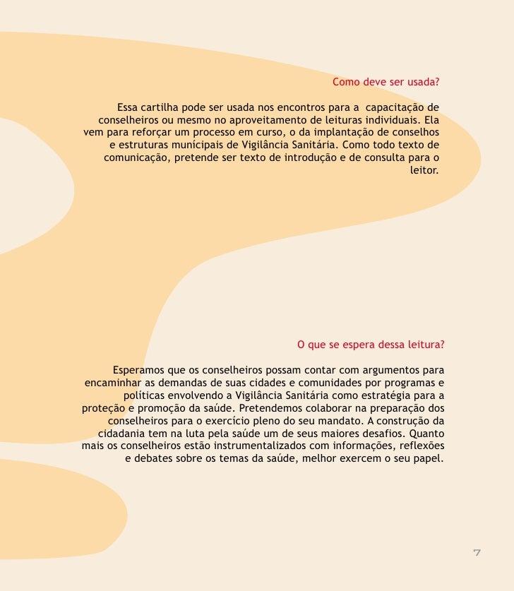 vigilância sanitária na cidade        No Brasil, muitas cidades já têm um serviço de Vigilância Sanitária bem        organ...