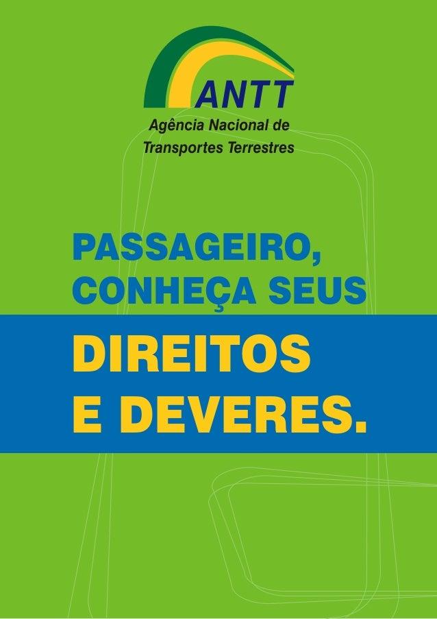 Direitos e deveres do passageiro (Transporte terrestre)
