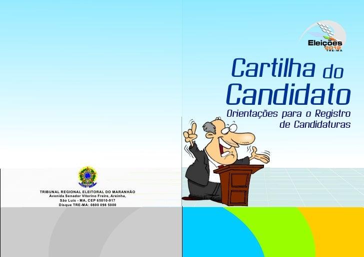 Cartilha do candidato