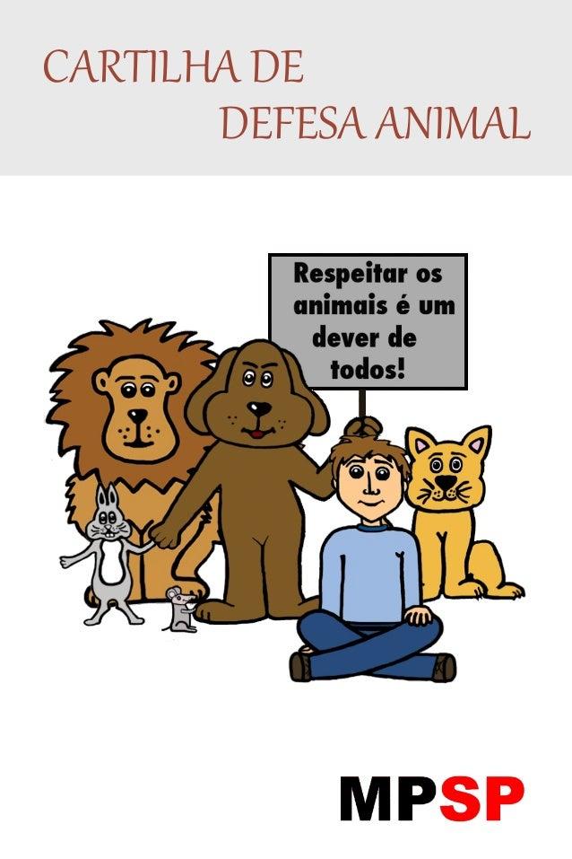 CARTILHA DE DEFESA ANIMAL