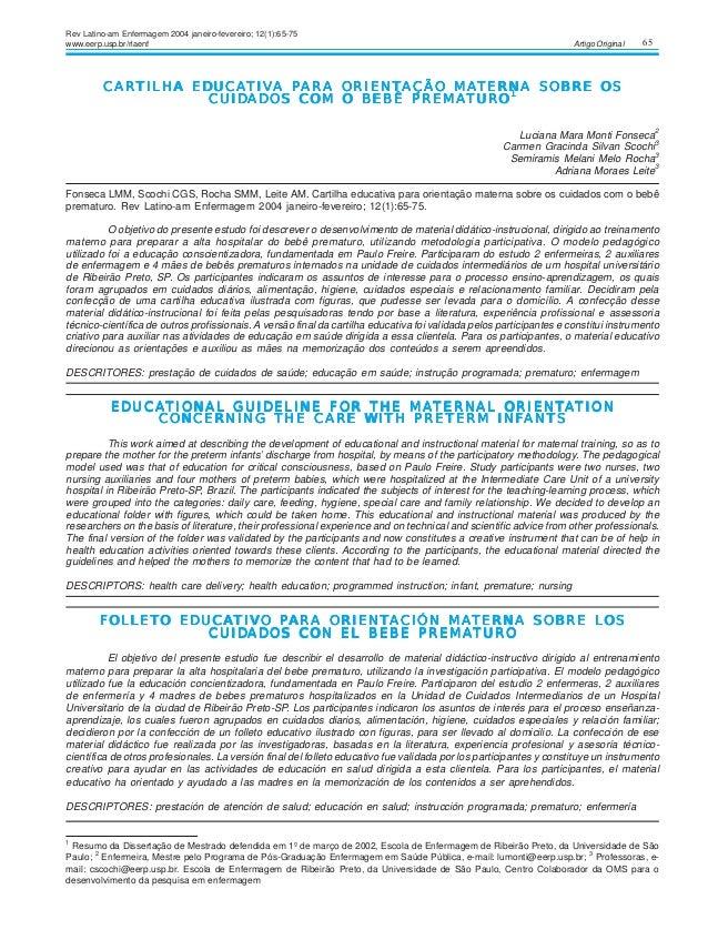 65Artigo Original CARCARCARCARCARTILHA EDUCATILHA EDUCATILHA EDUCATILHA EDUCATILHA EDUCATIVTIVTIVTIVTIVA PA PA PA PA PARA ...