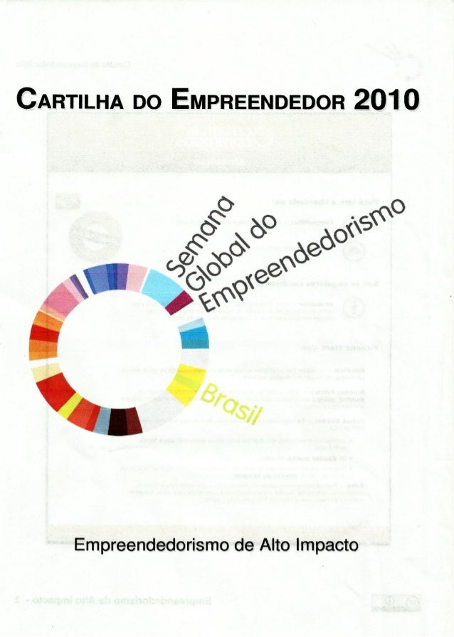 Cartilha empreendedor 2010