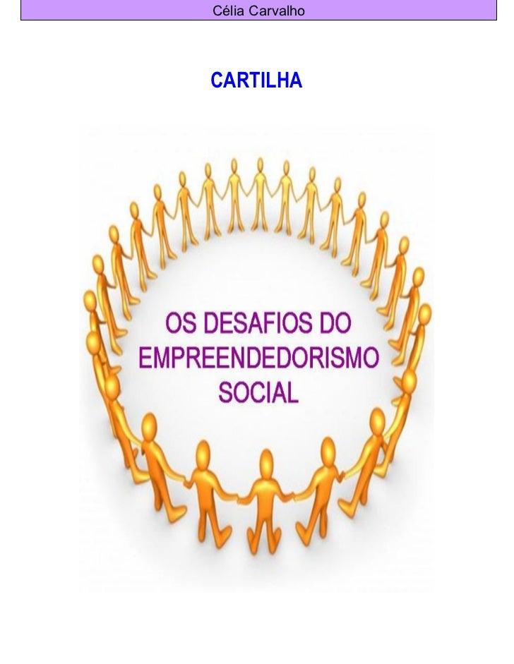 Cartilha empreendedorismo social