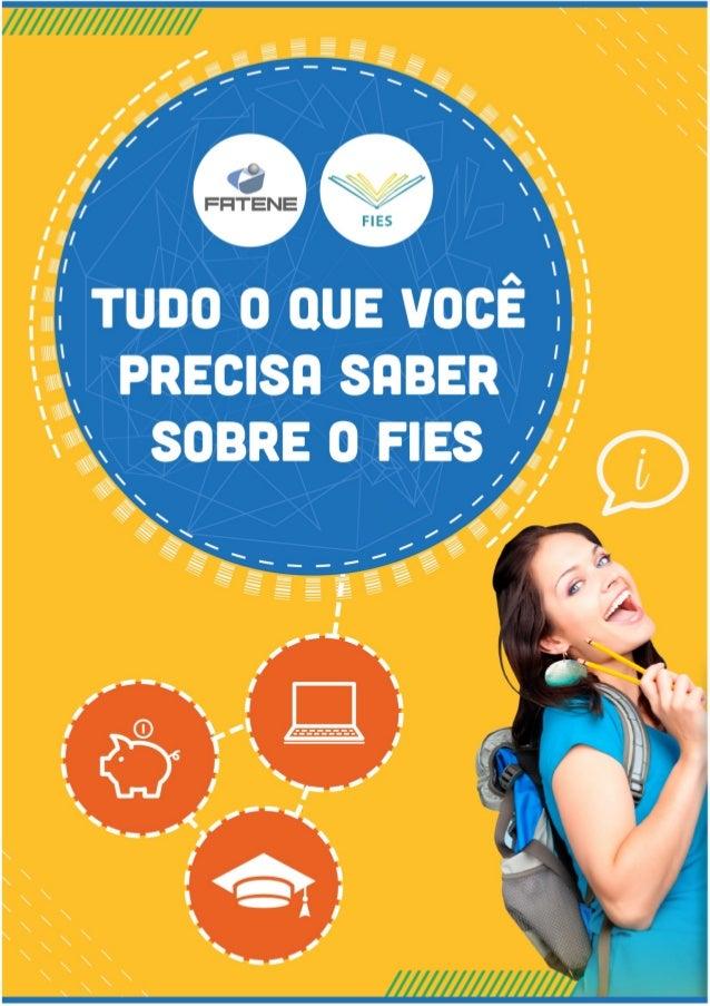 Cartilha FIES - FATENE