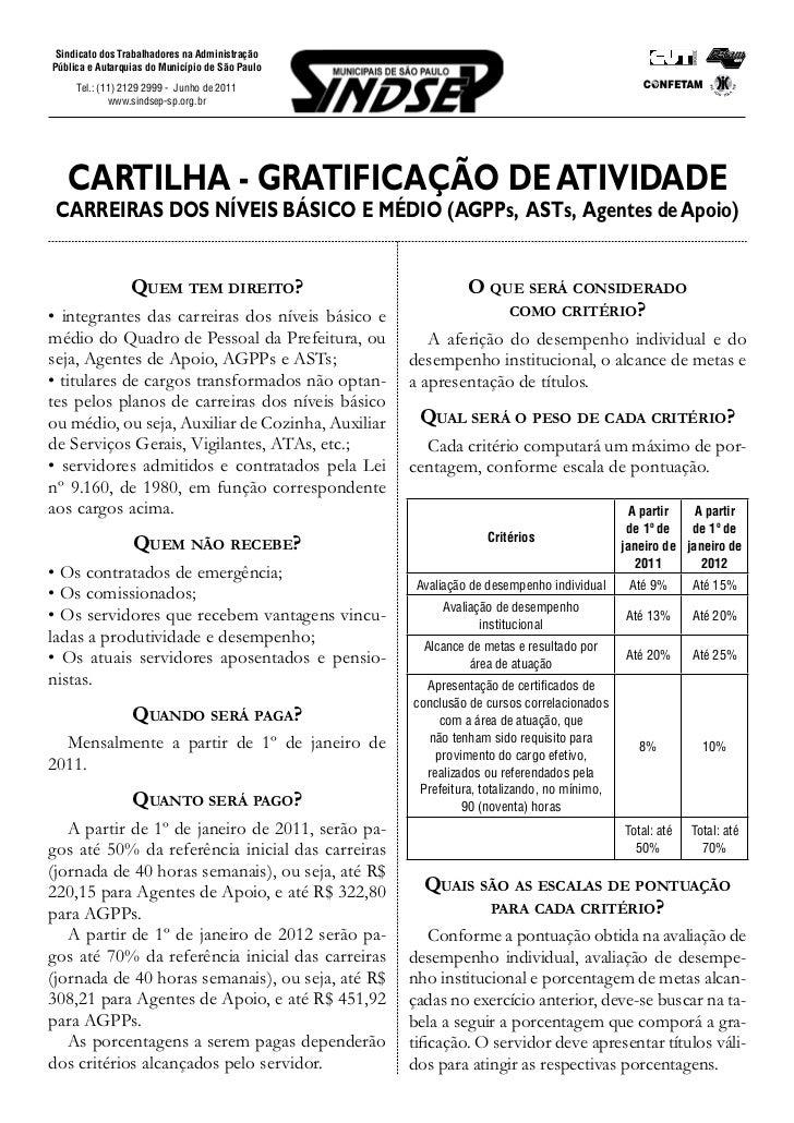 Sindicato dos Trabalhadores na AdministraçãoPública e Autarquias do Município de São Paulo     Tel.: (11) 2129 2999 - Junh...