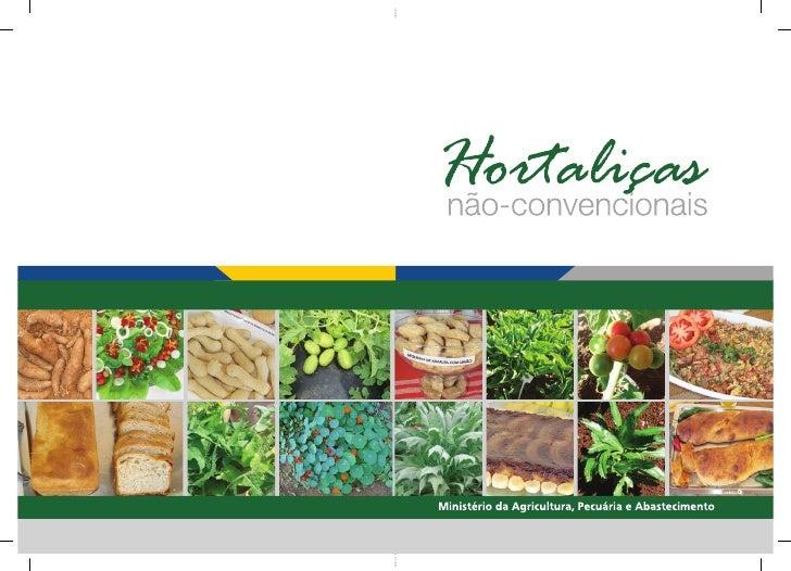 Ministério da Agricultura, Pecuária e AbastecimentoSecretaria de Desenvolvimento Agropecuário e CooperativismoHortaliças N...