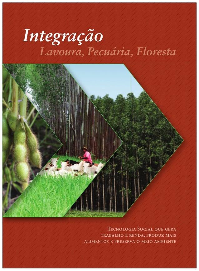 1 Lavoura, Pecuária, Floresta Integração