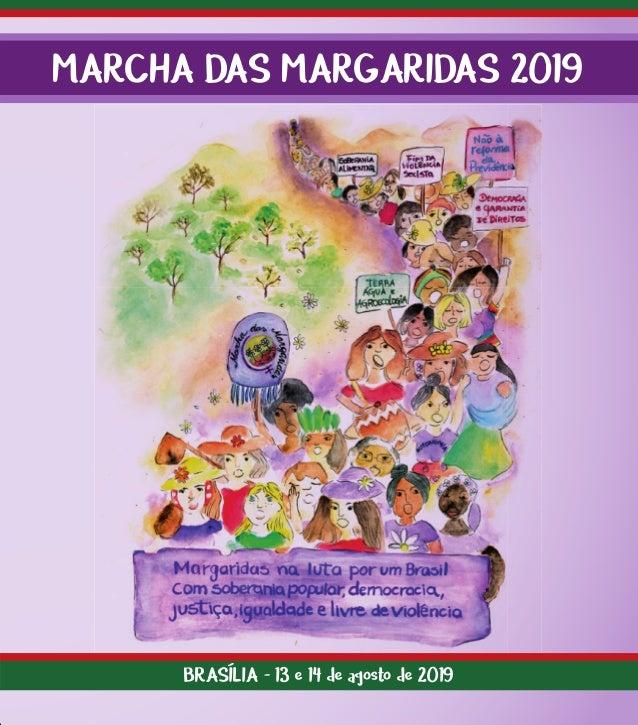 MARCHA DAS MARGARIDAS 2019 BRASÍLIA - 13 e 14 de agosto de 2019