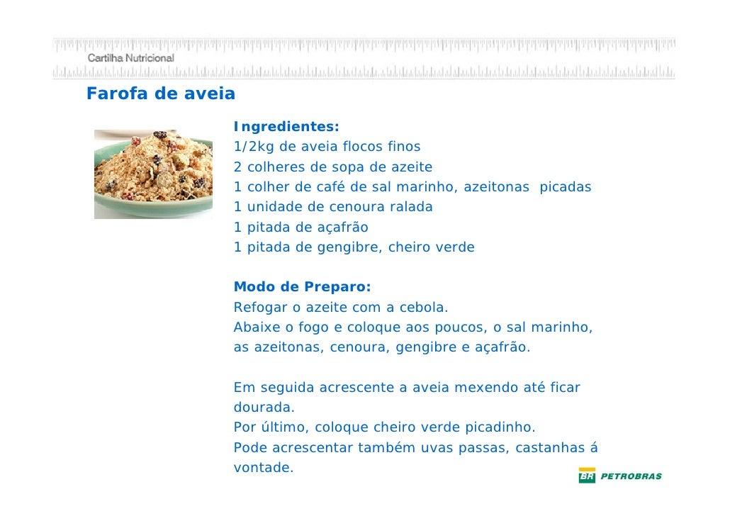 Enriquecendo sua sopaSubstitua a massa de sopa, arroz ou o macarrão                                                 USE:  ...