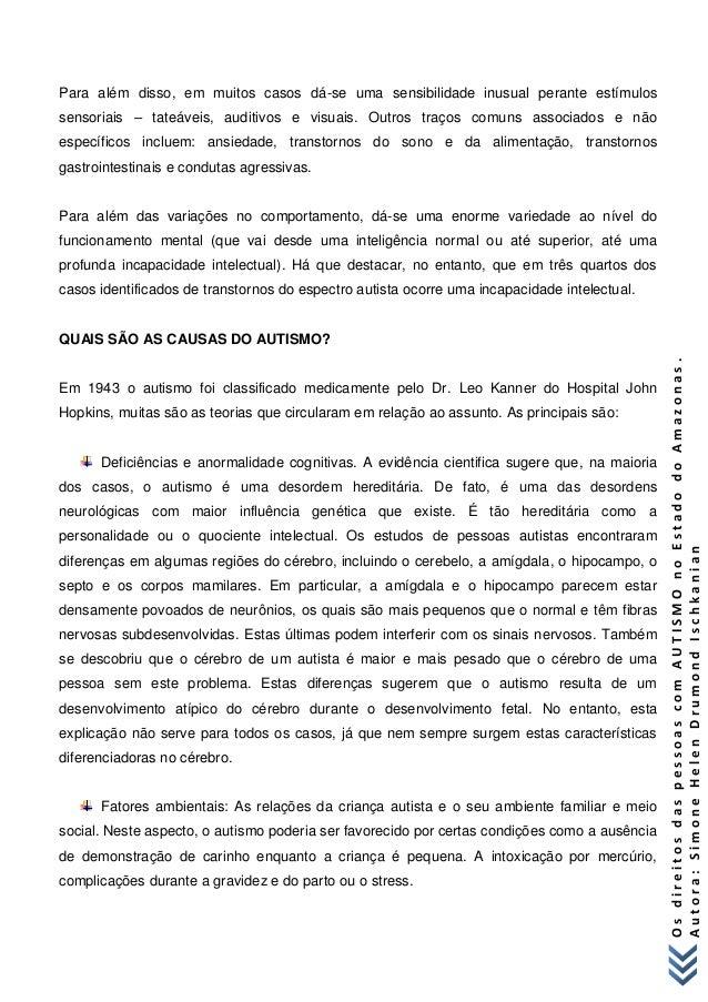 Cartilha os direitos dos autistas no amazonas simone helen drumond is… b75794c3b9