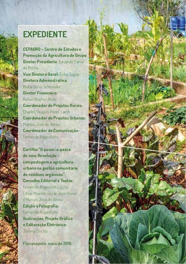 O passo-a-passo de uma Revolução – compostagem e agricultura urbana na gestão comunitária de resíduos orgânicos Slide 2