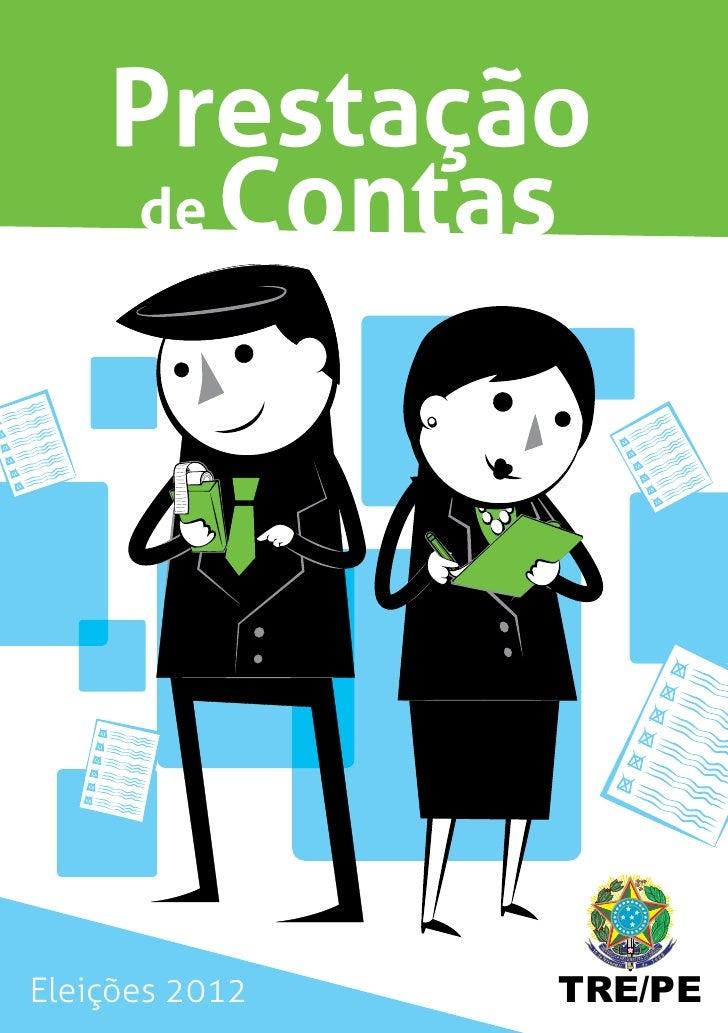 Prestação    de ContasEleições 2012   TRE/PE