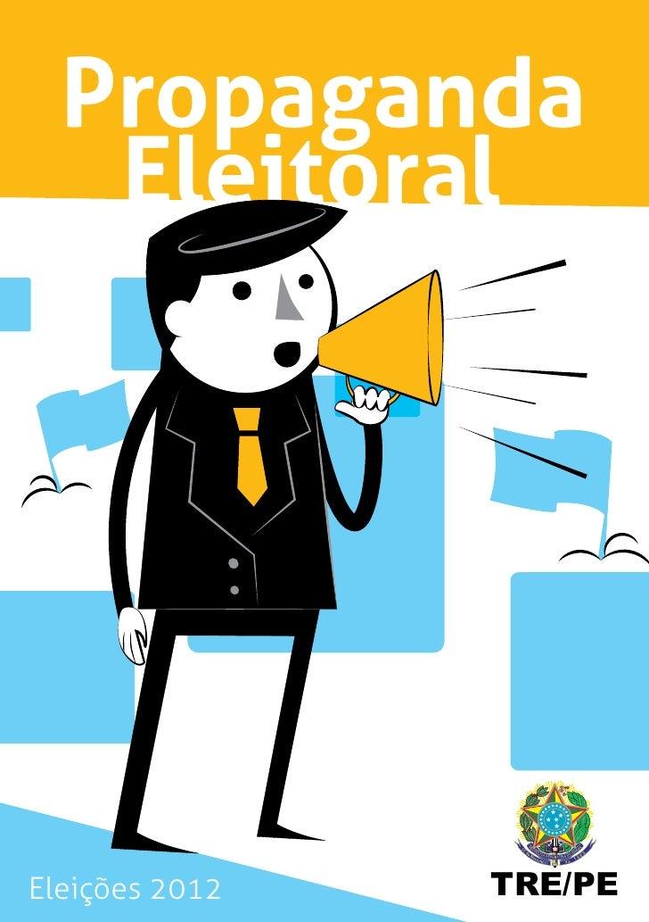 Propaganda   EleitoralEleições 2012   TRE/PE