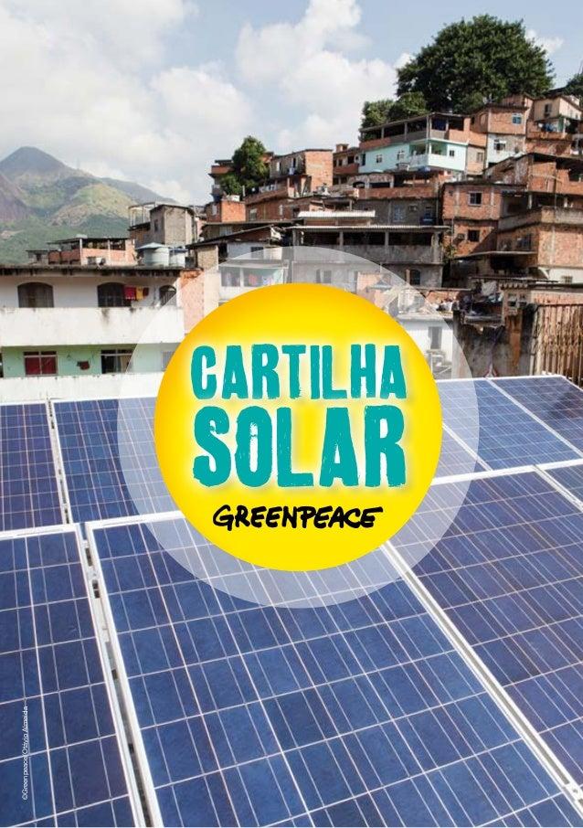 ©Greenpeace/Otávio Almeida  Cartilha  Solar