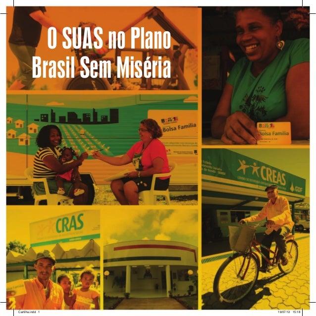 Cartilha SUAS  no Plano Brasil sem Miseria