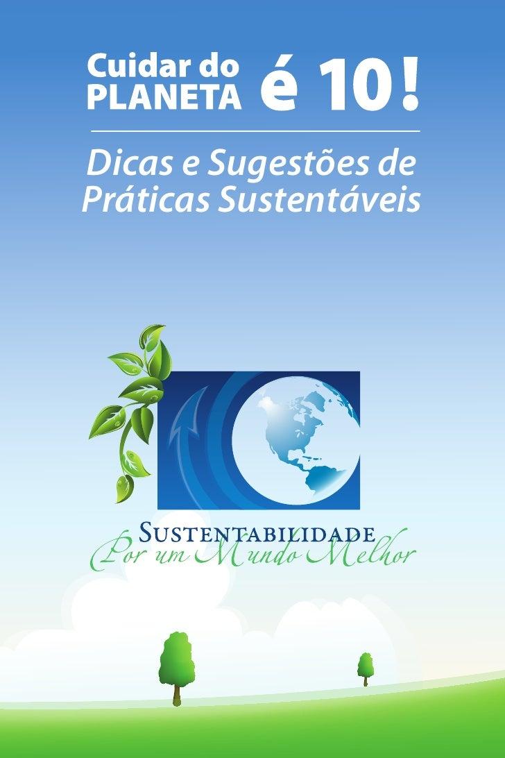Dicas e Sugestões dePráticas Sustentáveis