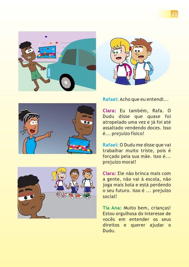 Conhecido Cartilha sobre os Direitos e Deveres da Criança CL14