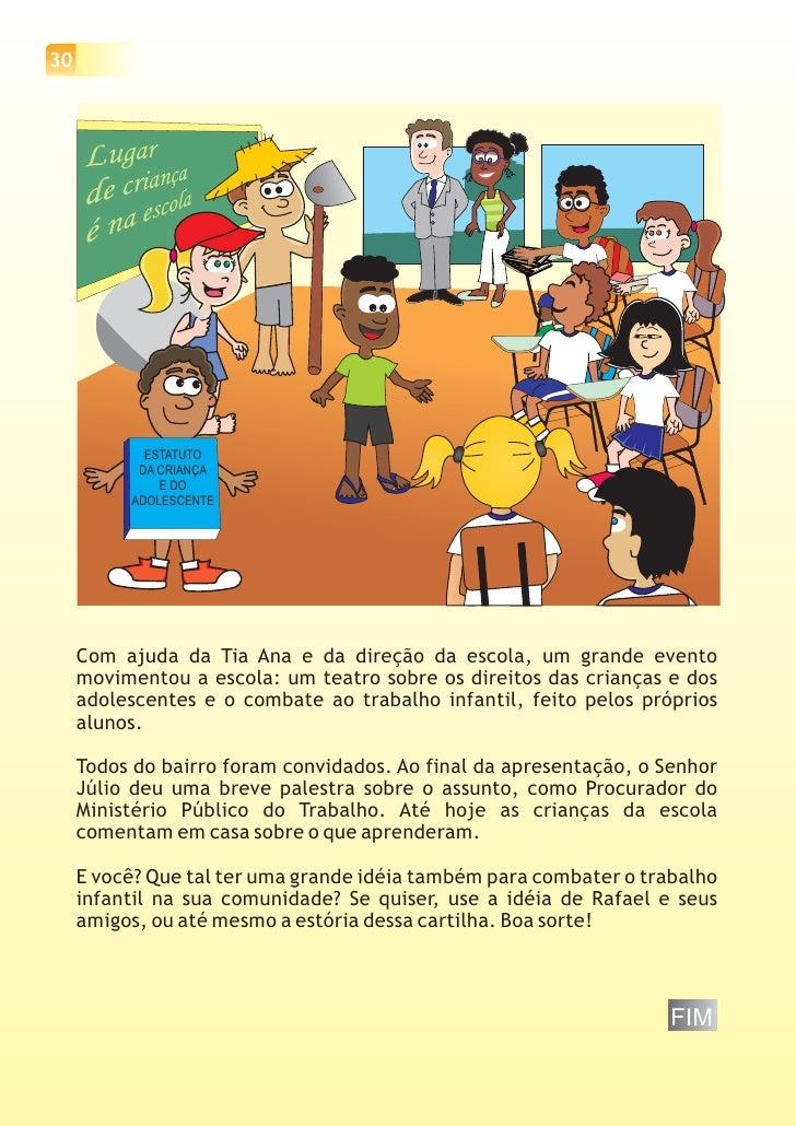 Famosos Cartilha sobre os Direitos e Deveres da Criança EV86