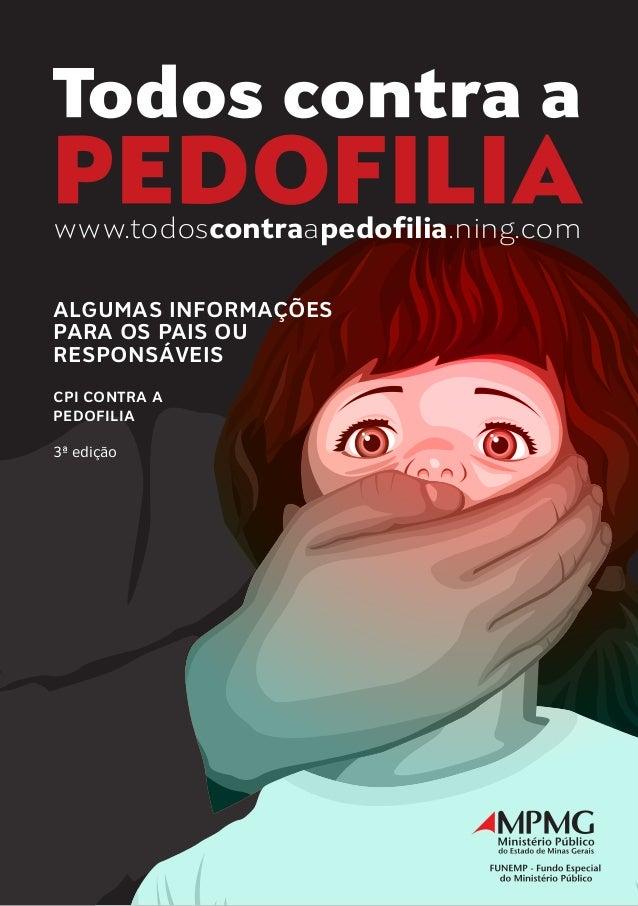 Cartilha todos contra a pedofilia