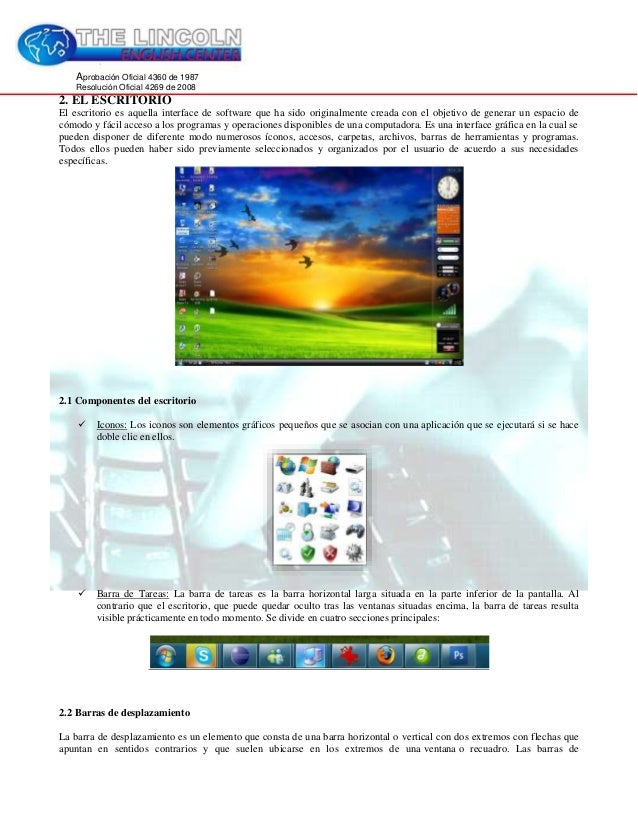 Curso Sistema Operativo E Internet