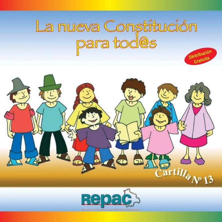 La nueva Constitución     para tod@s                    ución                           Di strib ta                       ...